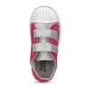 Růžové dětské tenisky s potiskem a kamínky mini-b, růžová, 229-5604 - 17