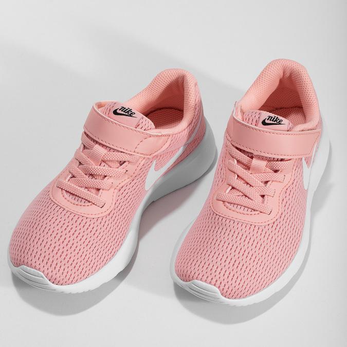 Lososově růžové dívčí tenisky nike, růžová, 309-5241 - 16