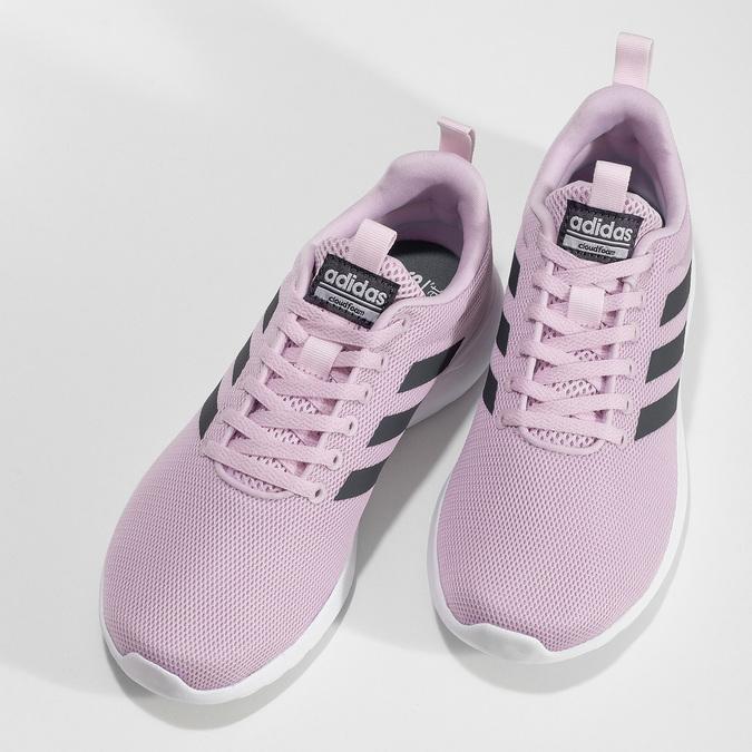 Růžové dámské tenisky s bílou podešví adidas, růžová, 509-5102 - 16