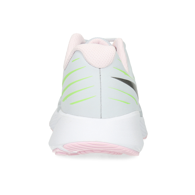 Světle šedé sportovní dětské tenisky nike, bílá, 409-1403 - 15