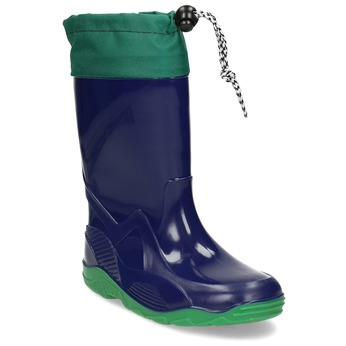 Chlapecké holínky zelené mini-b, modrá, 392-9641 - 13