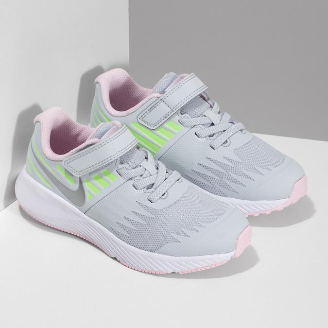 Šedo-růžové sportovní tenisky nike, šedá, 309-1211 - 26