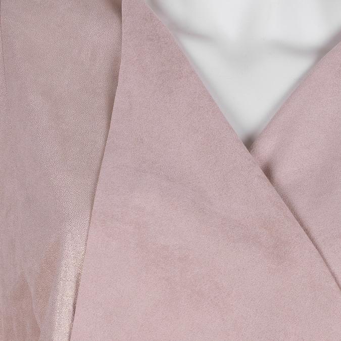 Dámský růžový kardigan bata, růžová, 979-5267 - 16
