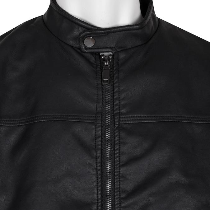 Černá jarní pánská bunda bata, černá, 971-6229 - 16