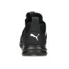 Kotníčkové černé tenisky s bílým logem puma, černá, 809-6207 - 15