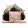 Růžová kožená kabelka bata, růžová, 964-5162 - 15