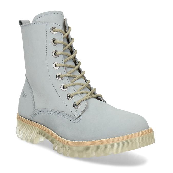 Modré kotníkové boty dámské weinbrenner, modrá, 596-9601 - 13