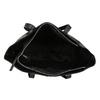Černá kožená shopper bag bata, černá, 964-6701 - 15