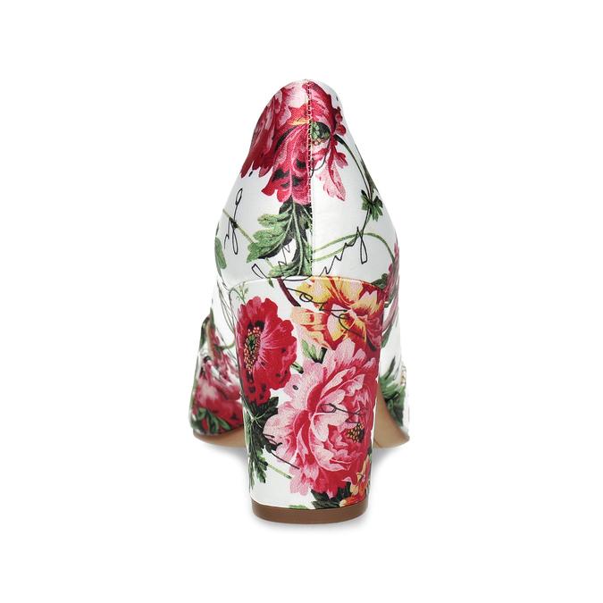 Květované lodičky do špičky hogl, vícebarevné, 629-0029 - 15