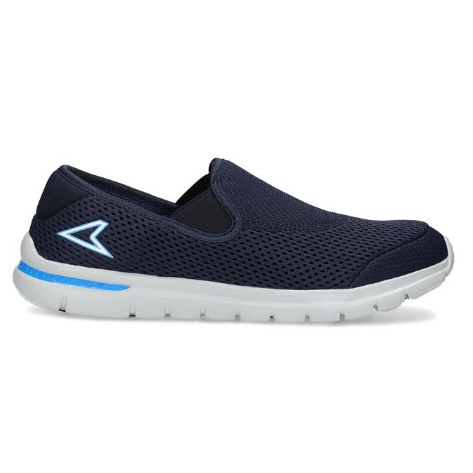 Pánské sportovní Slip-on power, modrá, 809-9318 - 19