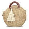 Dámská kabelka v přírodním designu bata, béžová, 969-8785 - 26