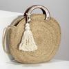 Dámská kabelka v přírodním designu bata, béžová, 969-8785 - 17