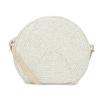 Bílá pletená Crossbody kabelka bata, bílá, 969-1786 - 16