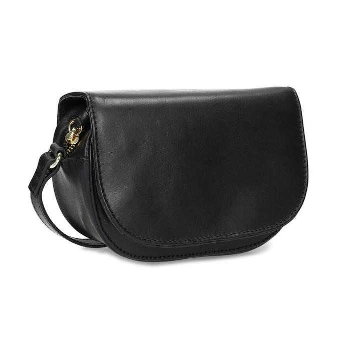 c548d472c3 Bata Kožená dámská černá Crossbody kabelka - Všechny kabelky