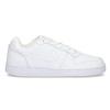 Bílé pánské ležérní tenisky s prošitím nike, bílá, 801-1124 - 19