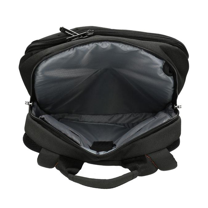 Kvalitní černý cestovní batoh samsonite, černá, 960-6062 - 15