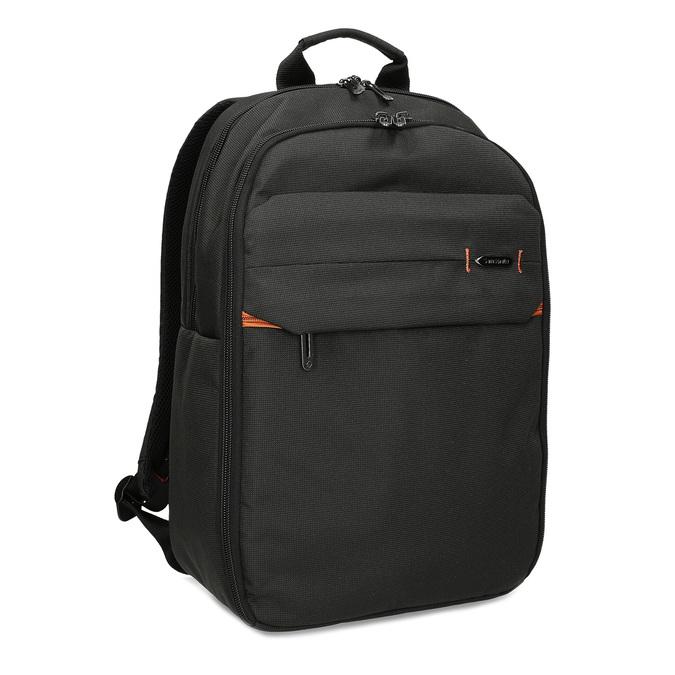 Kvalitní černý cestovní batoh samsonite, černá, 960-6062 - 13