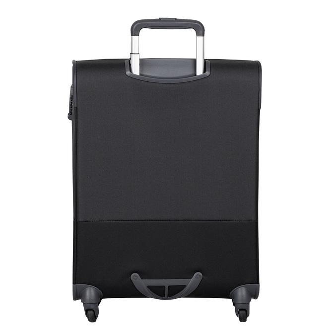 Černý kvalitní textilní kufr samsonite, černá, 960-6037 - 26