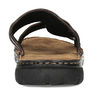 Pánské hnědé kožené nazouváky bata, hnědá, 866-4656 - 15