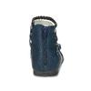 Dívčí sandály z kůže mini-b, modrá, 461-9620 - 15