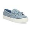 Modrá dámská Slip-on obuv se vzorem north-star, modrá, 639-9602 - 13