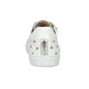 Dívčí kožené tenisky s potiskem bullboxer, bílá, 424-1604 - 15