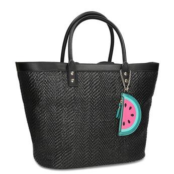 1f2814ca389f Černá plážová taška s přívěskem bata-red-label