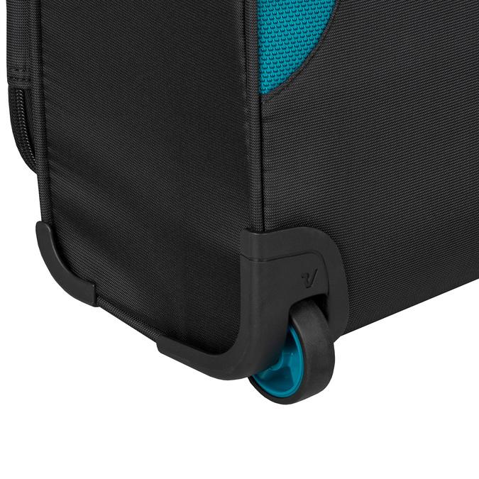 Černý textilní cestovní kufr roncato, černá, 969-6726 - 15