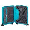 Modrý cestovní kufr na kolečkách american-tourister, modrá, 960-9624 - 17