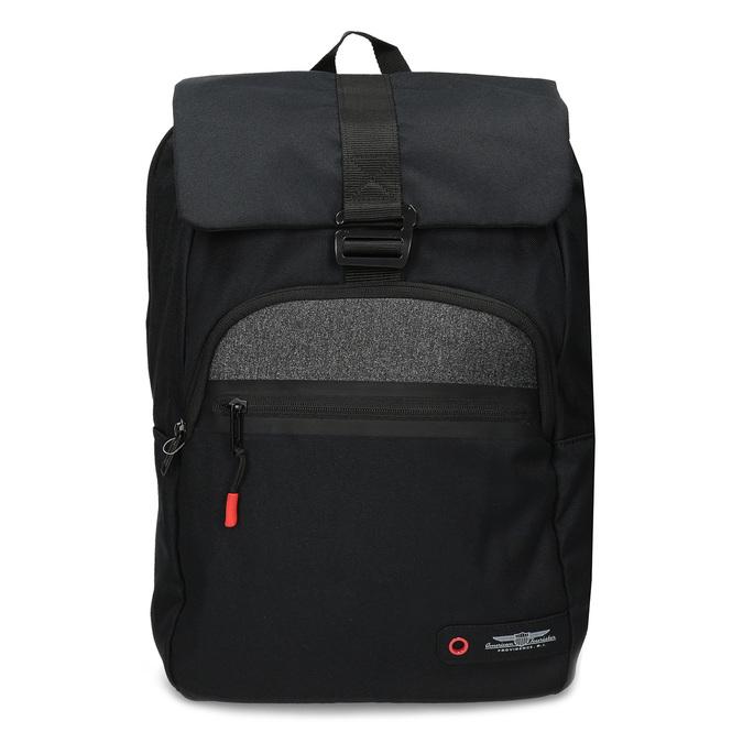 Černý cestovní batoh american-tourister, černá, 969-6744 - 26