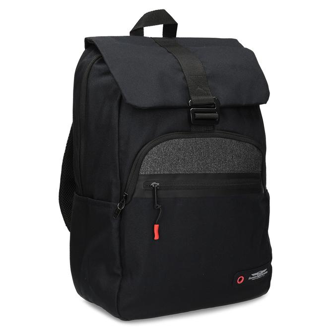 Černý cestovní batoh american-tourister, černá, 969-6744 - 13