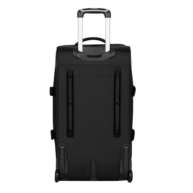 Černá cestovní taška na kolečkách american-tourister, černá, 969-6742 - 26