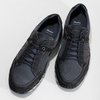 Ležérní pánské tenisky z broušené kůže bata, modrá, 843-9646 - 16