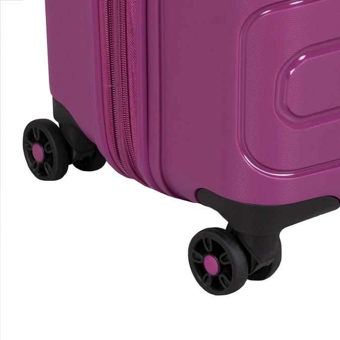 Střední růžový kufr na kolečkách american-tourister, fialová, 960-5625 - 15