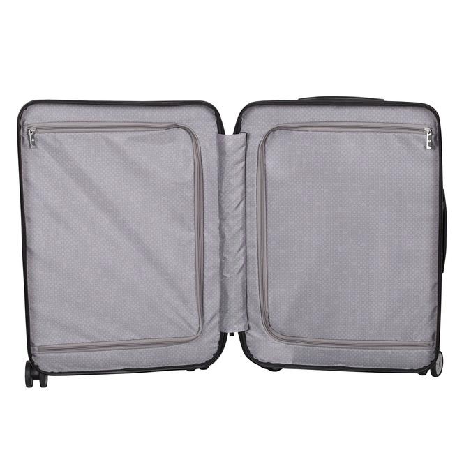 Skořepinový kufr na kolečkách samsonite, černá, 960-6031 - 17