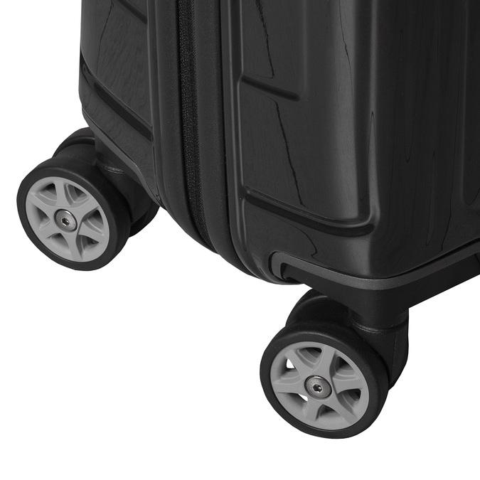 Skořepinový kufr na kolečkách samsonite, černá, 960-6031 - 16