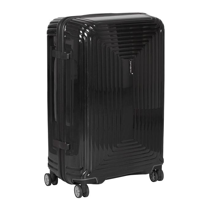 Černý skořepinový kufr na kolečkách samsonite, černá, 960-6033 - 13