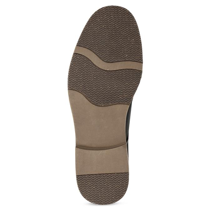 Pánská ležérní kotníčková obuv bata-red-label, černá, 821-6670 - 18