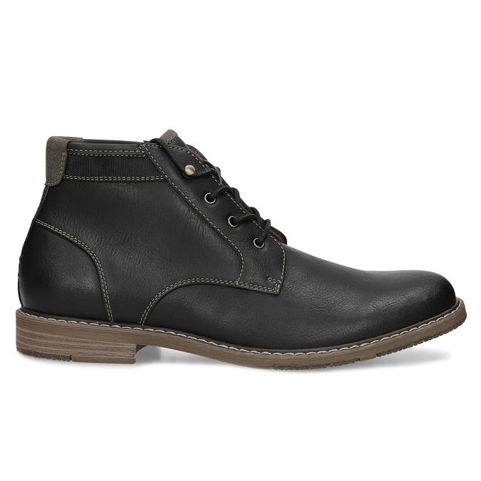 Pánská ležérní kotníčková obuv bata-red-label, černá, 821-6670 - 19