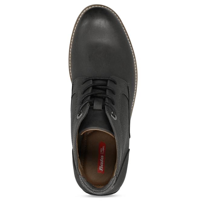 Hnědá pánská kotníčková obuv bata-red-label, hnědá, 821-6668 - 17
