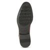 Hnědé pánské kožené Ombré polobotky bata, hnědá, 826-3618 - 18