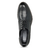 Dámské kožené černé Derby polobotky bata, černá, 524-6608 - 17