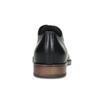 Dámské kožené černé Derby polobotky bata, černá, 524-6608 - 15