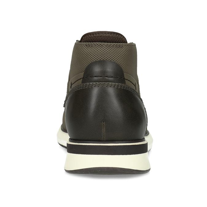 Kotníčkové pánské khaki tenisky bata-red-label, khaki, 821-7673 - 15