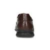Hnědé kožené pánské polobotky ve stylu Slip-on comfit, hnědá, 816-4695 - 15