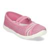 Růžové dětské přezůvky s bílou podešví mini-b, růžová, 379-5607 - 13