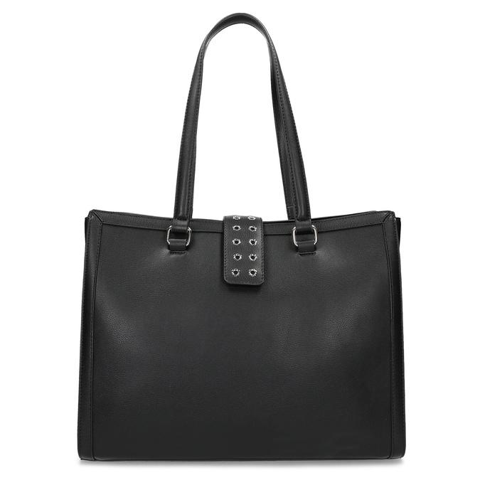 Černá dámská kabelka se cvoky bata, černá, 961-6998 - 26