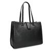 Černá dámská kabelka se cvoky bata, černá, 961-6998 - 13
