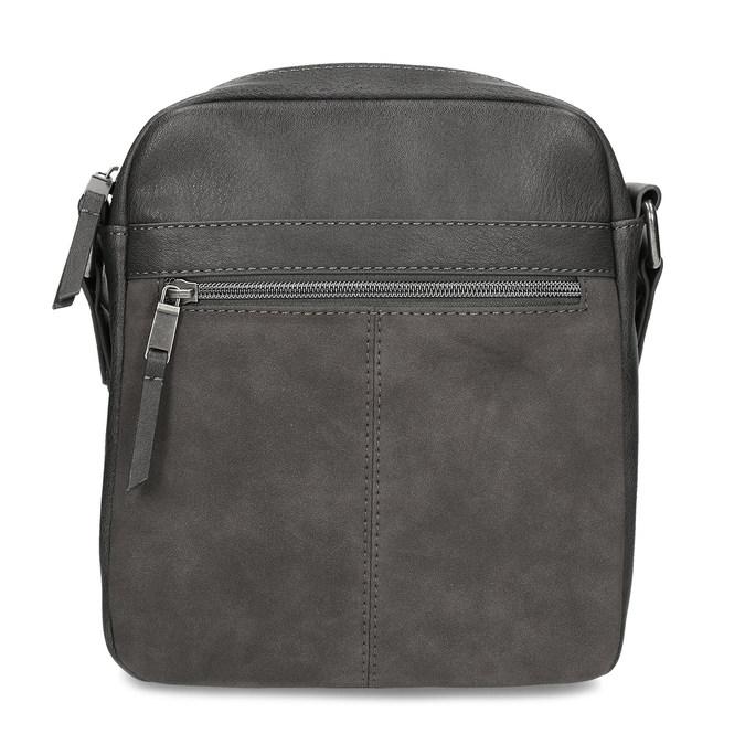 Šedá pánská taška přes rameno bata, šedá, 961-2714 - 26