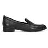 Černé dámské mokasíny kožené bata, černá, 534-6601 - 19